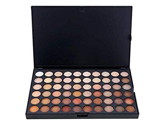 Palette de Fard à paupières, FantasyDay 120 Couleurs Professionnelle Shimmer Matte Ultra Pigmenté Bases de Ombre à paupières Maquillage Palette Cosmétique Set - Eyeshadow Makeup Beauty Kit #4
