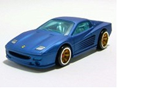 Hot Wheels Ferrari Racer F512M blau Auto