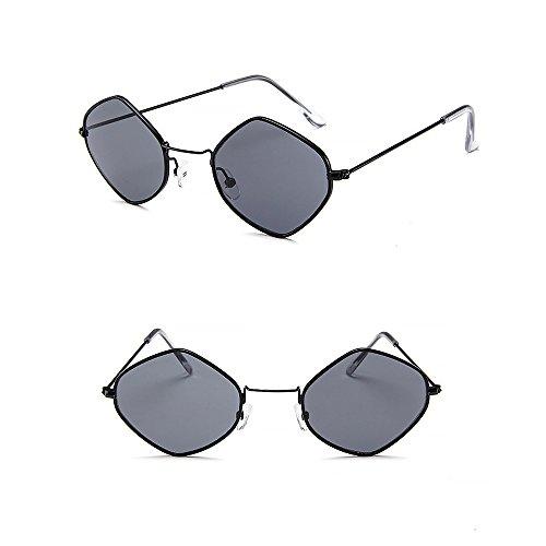 ProProCo Sonnenbrille UV 400 Runde Polarisierte Getönte Fashion Retro Brille für Damen und Herren...