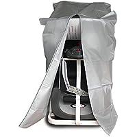 Tapa de la rueda de ardilla, egymcom 190T Cubierta impermeable con la cremallera Proteja su rueda de ardilla del polvo y del moho (los 75cm * 96cm * 160cm)