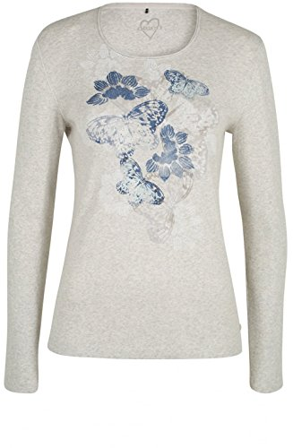 Olsen T-shirt - Donna Light Cashew Melange