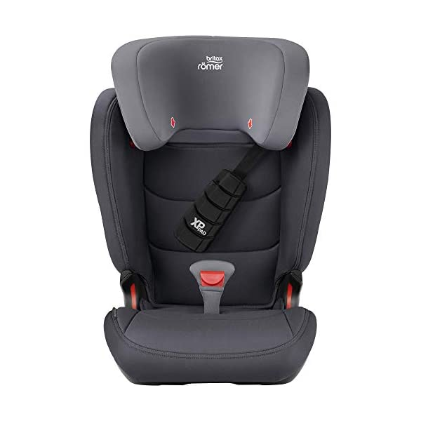 Britax Römer car seat 15-36 kg, KIDFIX Z-LINE Isofix Group 2/3, Storm Grey Britax Römer Made in germany Outstanding security concept - xp-pad and secureguard Ideal inside dimensions and seat - for extra comfort and excellent ergonomics 2