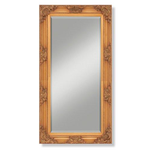 Wandspiegel Holzrahmen Silber Barock Antik Landhaus Spiegel Romero 100 x 180