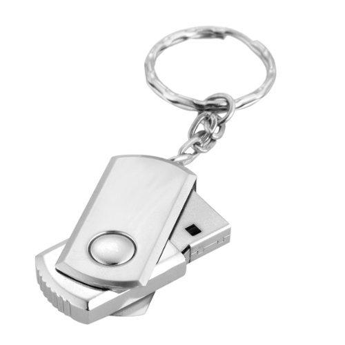 TOOGOO(R)64 GB USB 2.0 Memory Stick Flash Speicher Flash Antriebs mit Schluesselring – Silber - 3