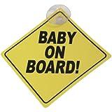 Placa 'Baby on board!'