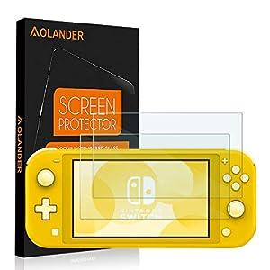 AOLANDER Compatible with Nintendo Switch Mini Panzerglas Schutzfolie, 9H Härte 5-Mal verbesserte Panzerglasfolie…