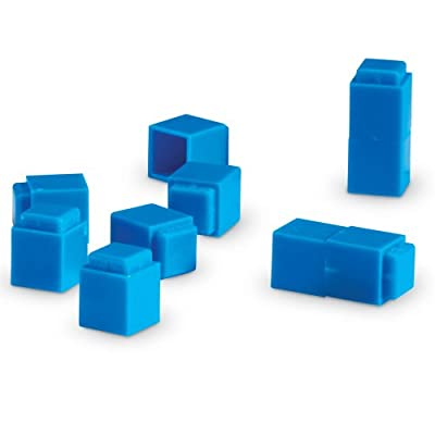 Learning Resources Interlocking Plastic Base Ten Units (Set of 100) by Learning Resources (UK Direct Account)