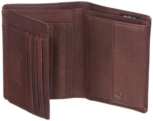 Strellson Harrison BillFold V11 4010001048 Herren Geldbörsen 11x13x1 cm (B x H x T), Schwarz (black 900) Braun (dark brown 702)