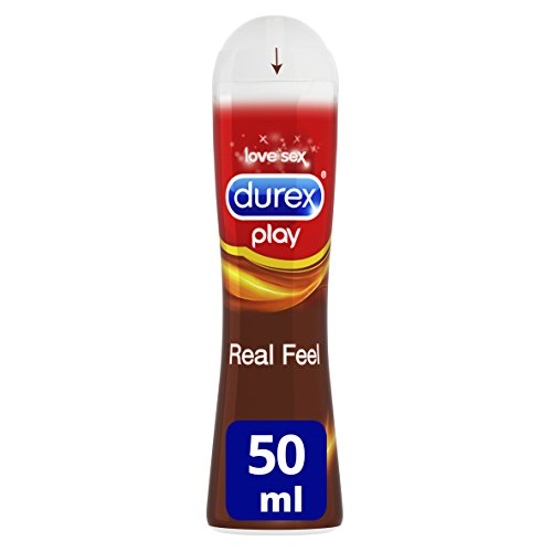 Durex Play Lubricante Larga Duración Real Feel 50