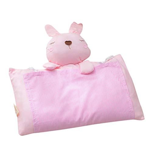 Monllack Kopfform Kissen Kinder Kopfstütze Kopf Positionierer Kinderkissen Baumwolle Kinder Schlafstütze Kinder Baby Bettwäsche (Krippe Kopfstütze)