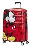 American Tourister Wavebreaker Disney , Bagaglio a Mano, Spinner L (77 cm - 96 L), Rosso (Mickey Comics Red)