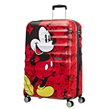 American Tourister - Disney Wavebreaker - Spinner , 77 cm, 96 L, Mickey Comics Red