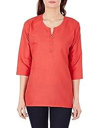 Designer Indian Kurti Tunic For Women - Luxurious Kurtis - Cotton & Viscose Tops For Women