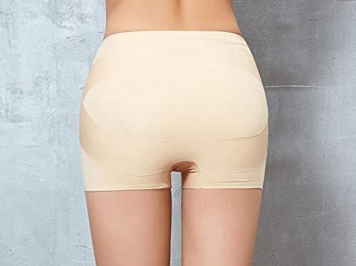 WXFC Korrekturgürtel für das Becken der Frauen, Body Shaping-Hose, Body Beauty-Hose für das Gesäß nach der Geburt, schwarz/hautfarben,Flesh,XL
