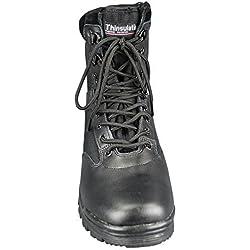 Mil-Tec Tactical Side Zip Botas Negro tamaño 5 UK / 6 US