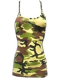 Islander Fashions Girls Plain Microfiber Vest Top Nios Sin Mangas Strappy Dance Lycra Vest Top 5-12 AOS