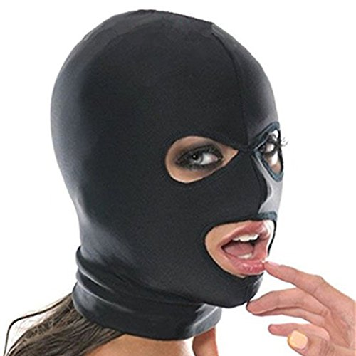 Imixcity Sexy Hole Fetish Hood Mask Role Playing Adult Costume Party Party Bondage Cosplay Costume
