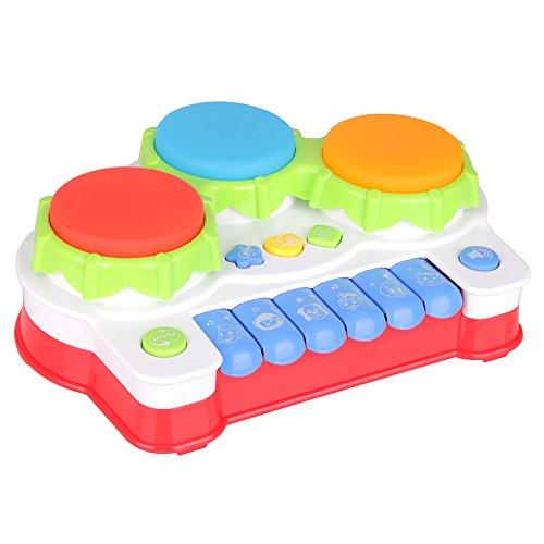 Preisvergleich Produktbild Babyspielzeug mit Musik Animal Farm Klavier Und Hand Beat Drum hochwertiges Kleinkindspielzeug - Musikinstrument - fördert den Tastsinn und das Hörvermögen Ihres Kindes