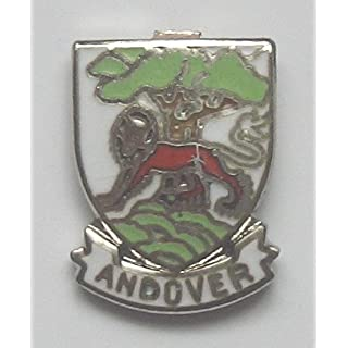 Andover Enamel Lapel Pin Badge