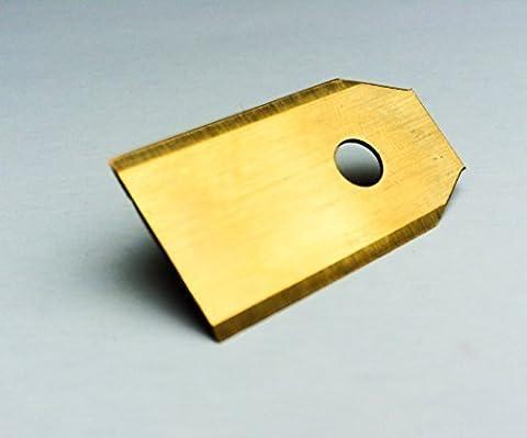 !Titan! 30 Genisys® Messer (Ti3=0,75mm) und Schrauben für Husqvarna Automower®, Gardena R40Li / R70Li