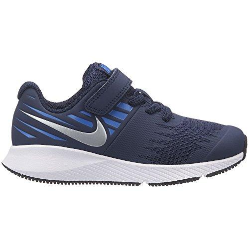 Nike 921443 406 Jungen Klettverschluss/Slipper Halbschuh, Größe 35.0