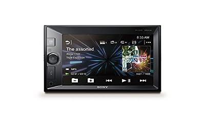 Sony XAV V631BT 2-Din Moniceiver 15,74cm Screen, NFC, Dual Bluetooth, Songpal, 4x 55W Super Bass Black/Multi