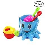 TOYMYTOY Giochi Spiaggia di sabbia Giocattoli con benna Sand Beach Toys Bucket Top Set per bambini