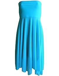 Lentiggini - Robe - Sans bretelle - Uni - Femme