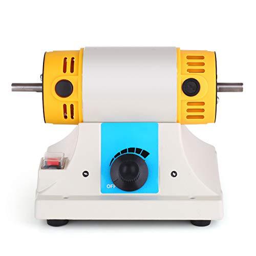 KKmoon Schmuck Poliermaschine, Mini TM Tischdrehmaschine für Schmuck, Rotationspolieren Schleifen Reinigen Endbearbeitungsmotor -
