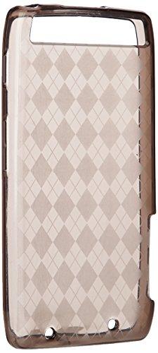 Amzer Hochglänzende TPU-Schutzhülle für Motorola RAZR MAXX XT910, rauchgrau mit Argyle-Muster