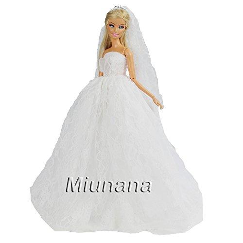 Vestidos de novia juegos barbie