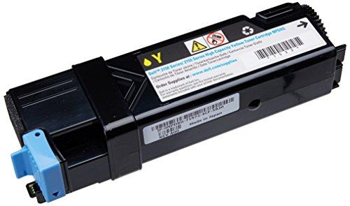 Original Dell 2150cn/cdn & 2155cn/cdn High Capacity Toner Kit, ca. 2.500 Seiten, gelb
