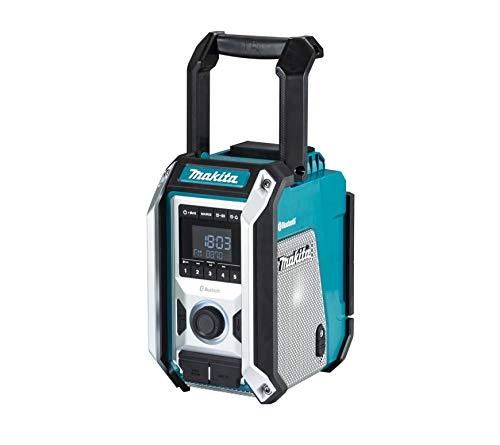 Makita DMR114 Baustellenradio Bluetooth 12 bis 18 V Li-Ion, blau