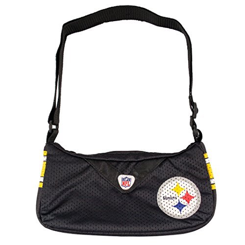 nfl-pittsburgh-steelers-jersey-team-purse-12-x-3-x-7-inch-black-by-littlearth