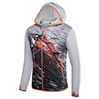POKEE Fishing Clothing Men Breathable Sun UV Protection Outdoor Indoor Sportswear Clothes Fishing Shirt