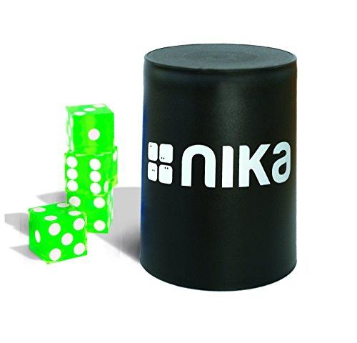 nika Dice Stacking Basic Set Green - Stacking-würfel