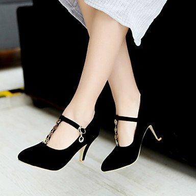 Talloni delle donne Primavera Autunno scarpe formali in similpelle per ufficio Outdoor & amp;Partito & amp Carriera;Abito da sera casuale tacco a spillo Bu US7.5 / EU38 / UK5.5 / CN38