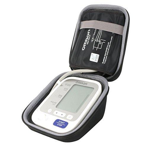 Co2crea duro viaggio caso copertina per omron m3 comfort misuratore(travel case)