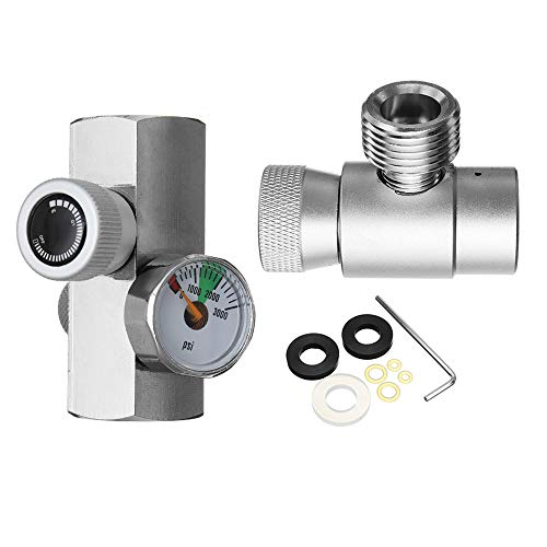 ExcLent Co2 Tank Cylinder Refill Filling Adapter Connector Homebrew Kit For Metal Sodastream (Co2 Tank Adapter)