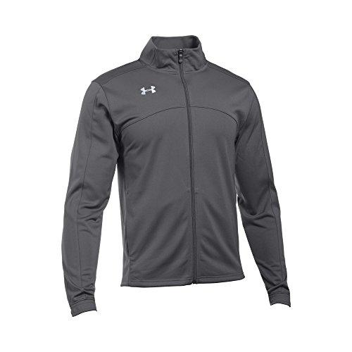 Under Armour UA Futbolista Soccer Track Jacket Graphite/ White