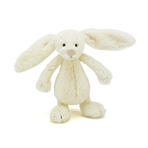 Image of Jellycat Bashful Cream Bunny, Small - 7 Size: Small - 7, Model: BASS6BC, Toys & Gaems