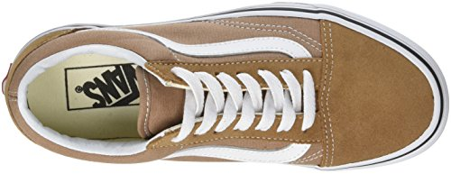 Vans Old Skool Suede/Canvas, Baskets Mixte Adulte Marron (Tigers Eye/true White)