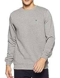 BUYBACK® Mens Winter Imported Long Sleeves Slim Warm Sweatshirt(Size-M)(Grey)