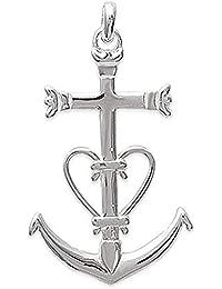 So Chic Bijoux © Pendentif Croix de Camargue Grande Argent 925 aa5b2fab238