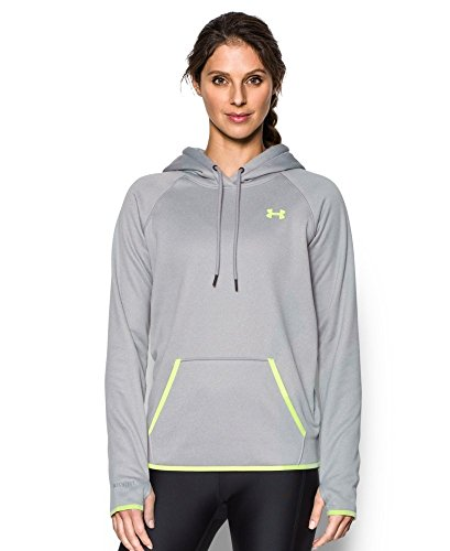 Under Armour Damen Storm Af Icon Hoodie-Trg Oberteil True Gray Heather