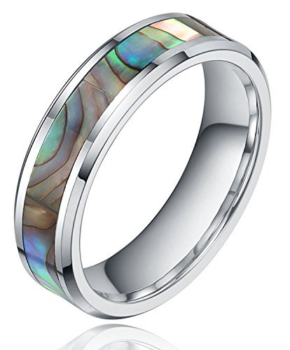 6mm-tungsten-metal-abalone-shell-inlay-polished-finish-step-edge-ring-comfort-fit-wedding-band55-by-