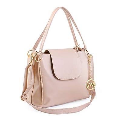 Women Marks Women's Hand Held Bag & Sling Bag (Nsb1066, Cream)