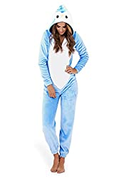 Womens Onesie Fleece Animal Size 8 10 12 14 16 18 20 22 Christmas Gift Warm Cosy by Koo-T
