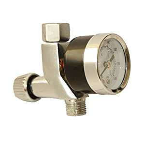 "Mini Air Regulator for HVLP Spray Compressor Gun & Air Brush 1/4"" BSP"