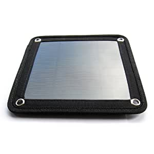 PortaPow 3 Watt USB Solar Charger Panel for Smartphones, Satnavs, GoPro, etc